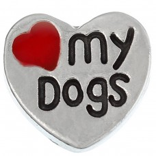 N00-02004 Love My Dogs Charm